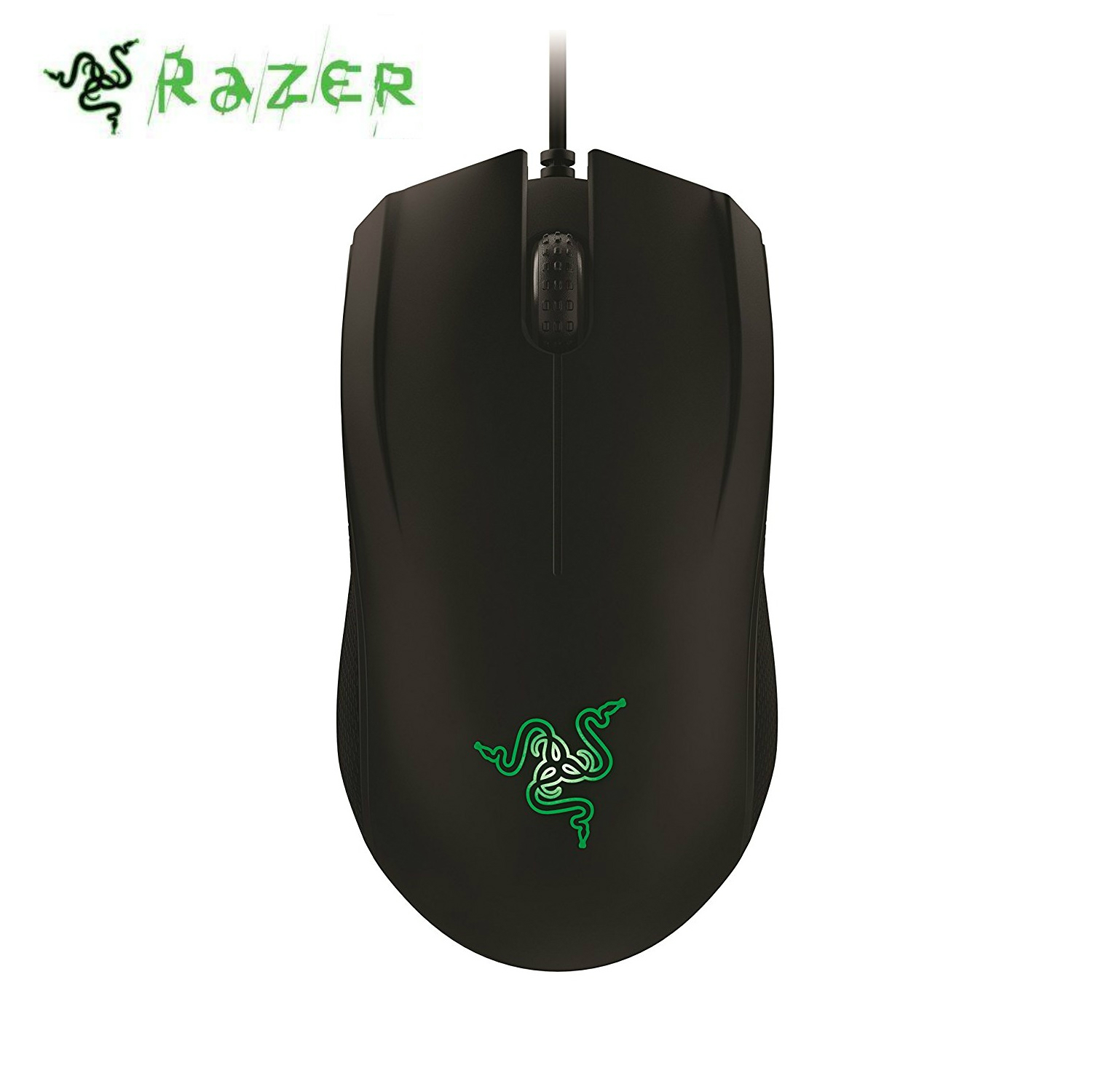Aliexpress kup Razer Abyssus 2014 Gaming Mouse Essential 3500 DPI PC Gamer USB Wired Ergonomic Ambidextrous Professional For CSGO Overwatch od