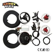 мотор колесо 10 дюймовый интегрированный двигатель электрический скутер колесо двигателя аксессуары бесщеточный электро колесо высокой Torgue