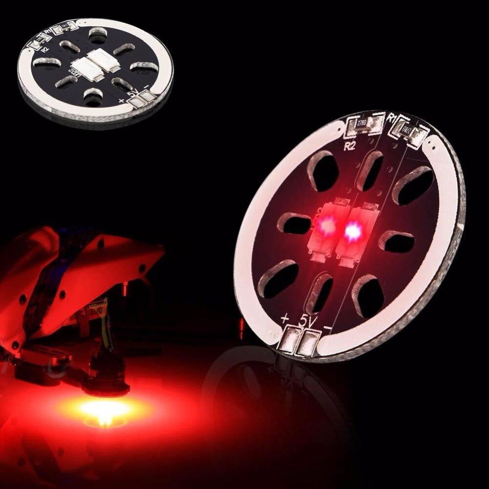 Новый мини светодиодный X2/5 В Двигатель гора света для 1806 2204 2206 multicopters дроны белый a676