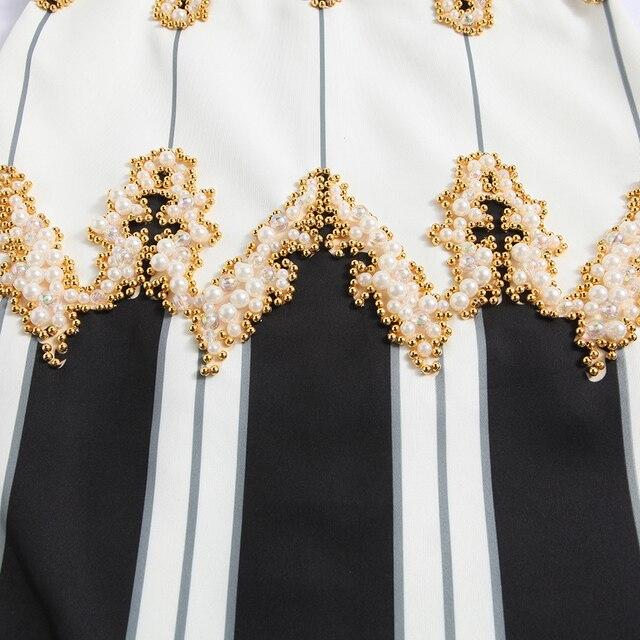 High QUALITY Paris Fashion 2018 Designer Runway Dress Kim Kardashian Women's Luxurious Hand Work Beading Maxi Long Dress 4