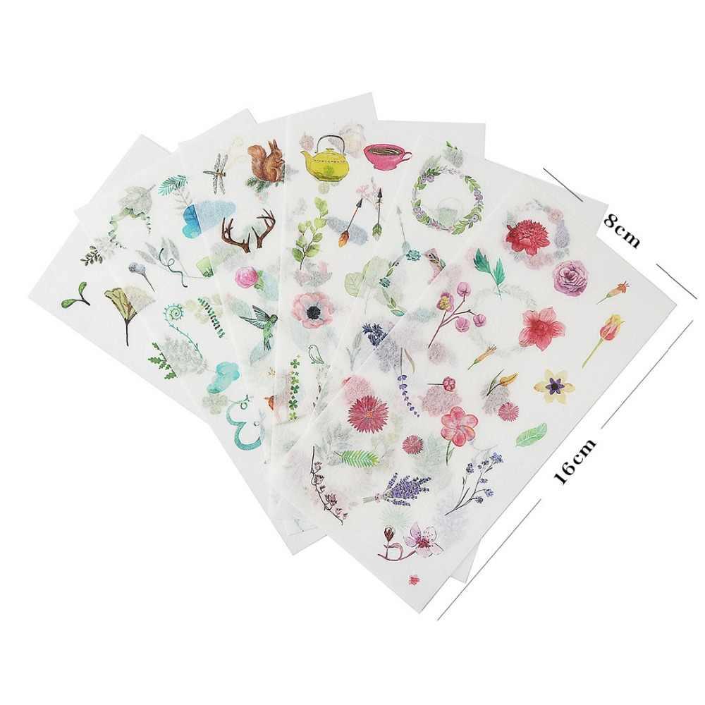Arsmundi Kawaii японский журнал стикер s милый дневник цветок торт наклейки закуски Скрапбукинг хлопья стикер для канцелярских товаров поставки