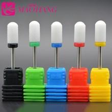 MAOHANG керамическая насадка для ногтей, сверло, фреза для электрической дрели, устройство для маникюра, аксессуар для удаления акрилового геля
