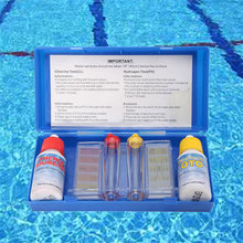 1 Set PH Chlorine Water Quality Test Kit Hydrotool Testing Accessories for Swimming Pool ASD88