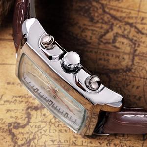 Image 4 - MEGIR mode montre décontractée pour homme de luxe militaire sport montres bracelet en cuir étanche Quartz montres mâle Relogio Masculino