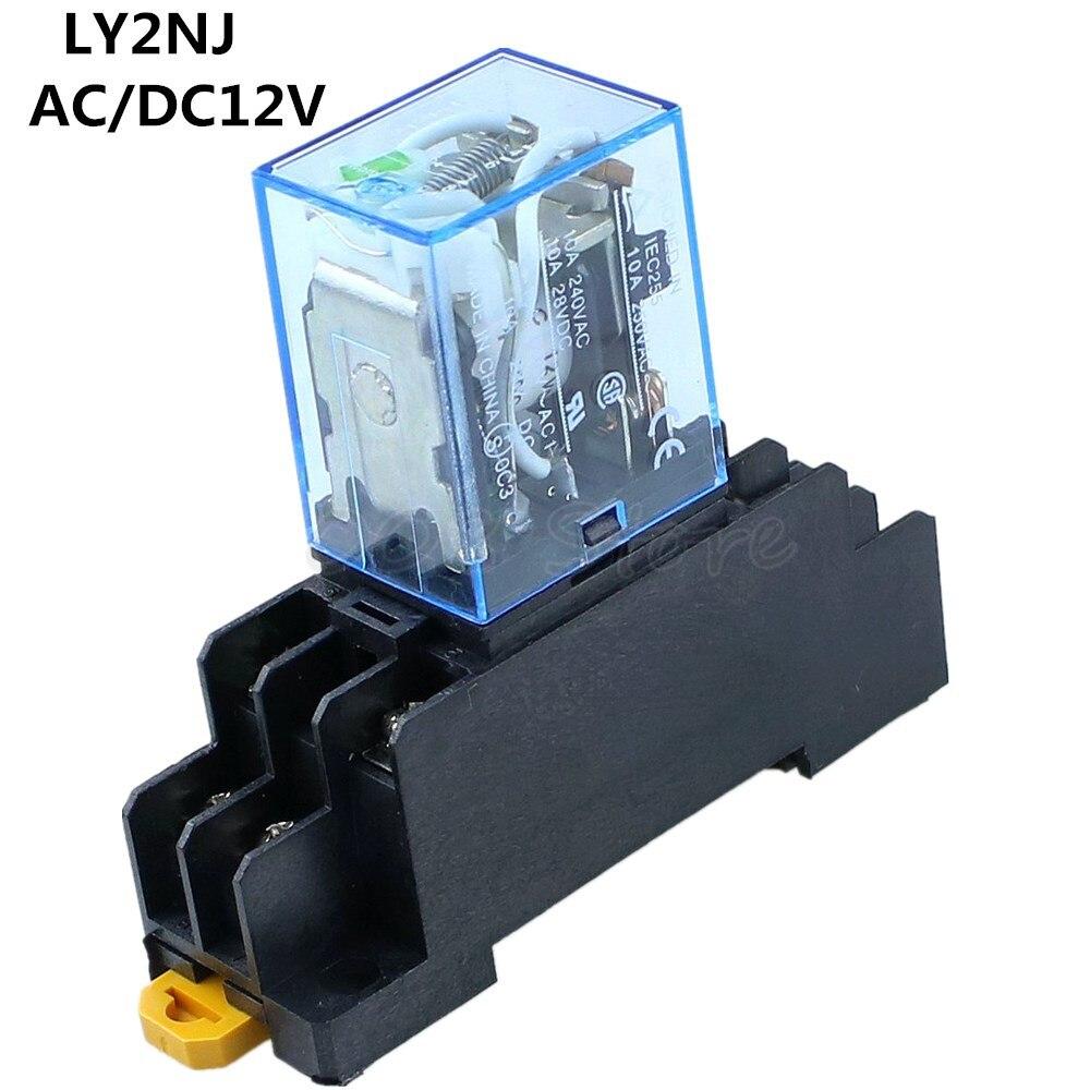 National Relè 12VDC K2-12V-1 2PDT
