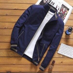 Image 2 - NaranjaSabor Jassen Heren Pilot Bomber Jas Mannelijke Mode Baseball Hip Hop Streetwear Jassen Slim Fit Jas Merk Kleding N514