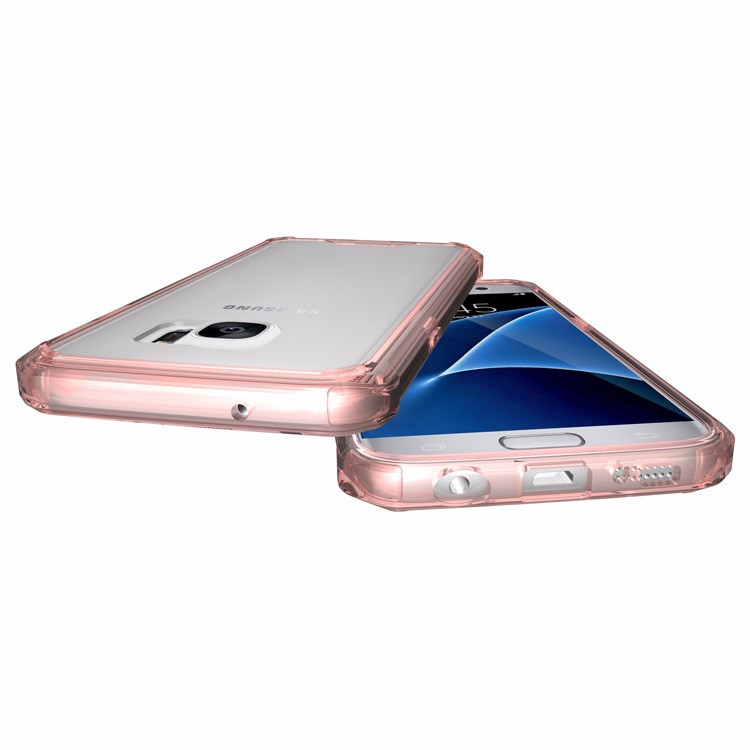 Samsung Galaxy S7 üçün Kristal Təmiz Arxa Panel Qabıqlı Ultra - Cib telefonu aksesuarları və hissələri - Fotoqrafiya 4