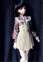 JCL 016 Pretty 1/3 BJD doll clothes SD Braces skirt Three Colors short skirt for size 8 9 inch doll Clothing Doll Accessories