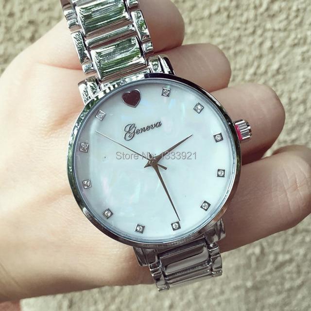 Zegarek damski uroczy klasyczny stylowy trzy kolory
