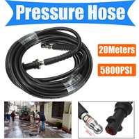5800PSI 20M High Pressure Hose Washer Cleaning Hose For Karcher K2 K3 K4 Car Washing Water Spray gun