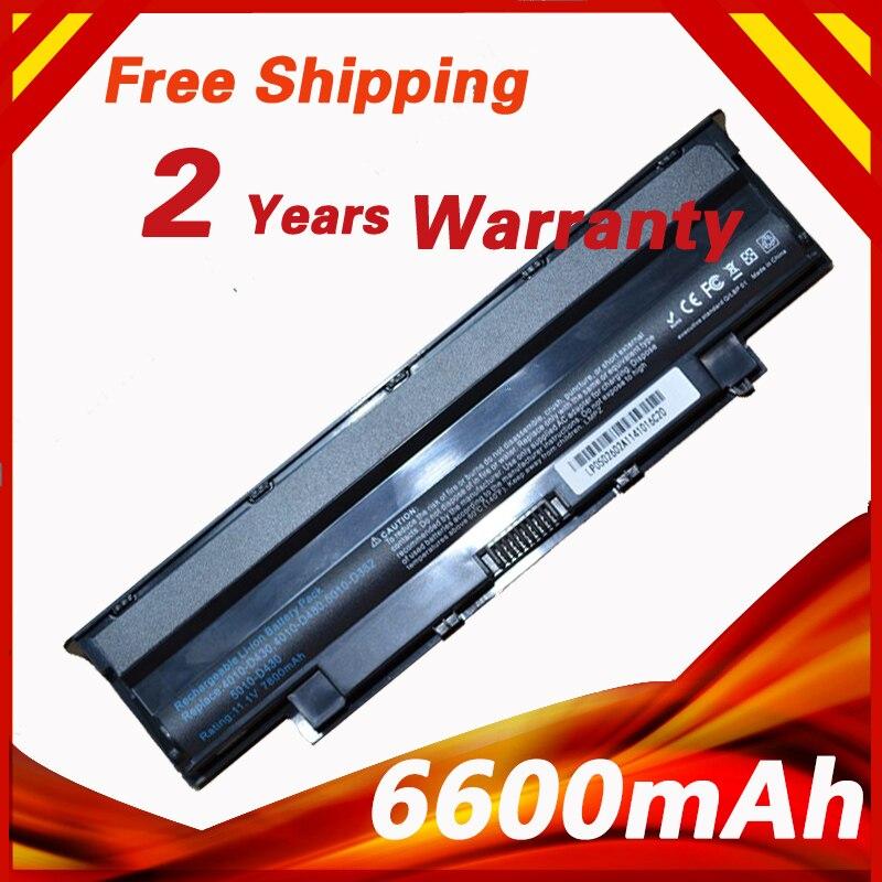 9cells Laptop Battery N4010 For Dell 13R 14R 15R 17R 3450 3550 1440 3750 N5010 N5020 N5030 N5040 N5050 N5110 M5030 N7010 N7110
