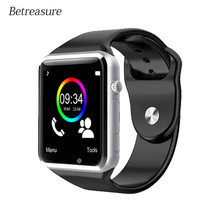 Betreasure Bluetooth A1 Smart Watch Android Smartwatch Phone Call SIM TF Camera Fitness Tracker Smart Watches For IOS iPhone