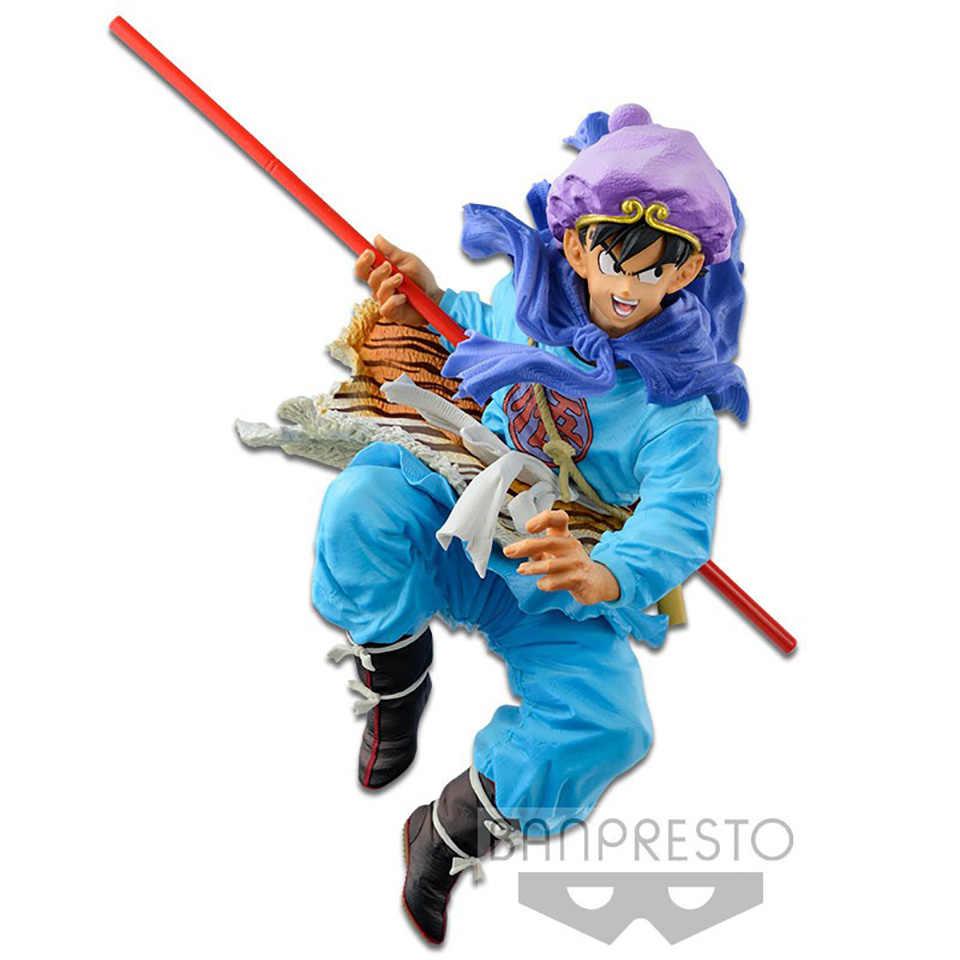 BWFC Tronzo Original Banpresto Dragon Ball Figura de Ação Dragon Ball Son Goku PVC Figura Coleção Modelo Brinquedos Estatueta DBZ