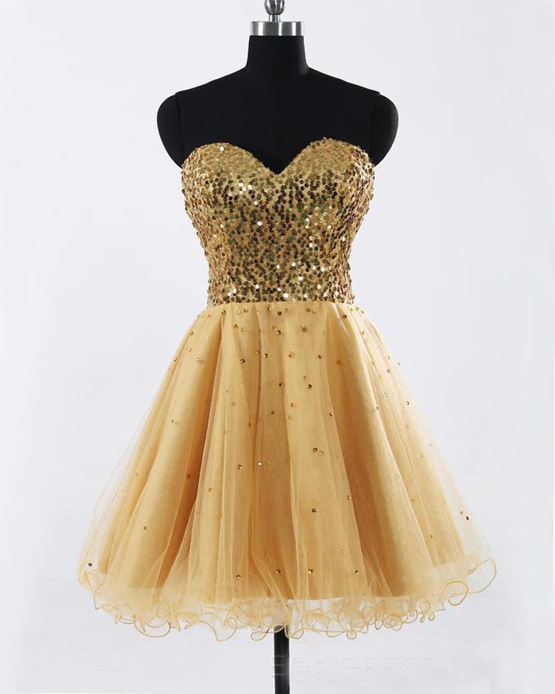 Cheap Gold Homecoming Dresses Reviews - Online Shopping Cheap Gold ...