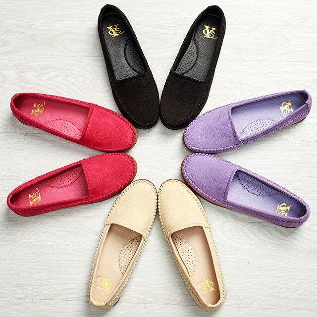 14764101f4 Ladies Shoes Ballet Flats Women Flat Shoes Woman Ballerinas Black Large  Size 41 Casual Shoe Sapato Womens DL5030