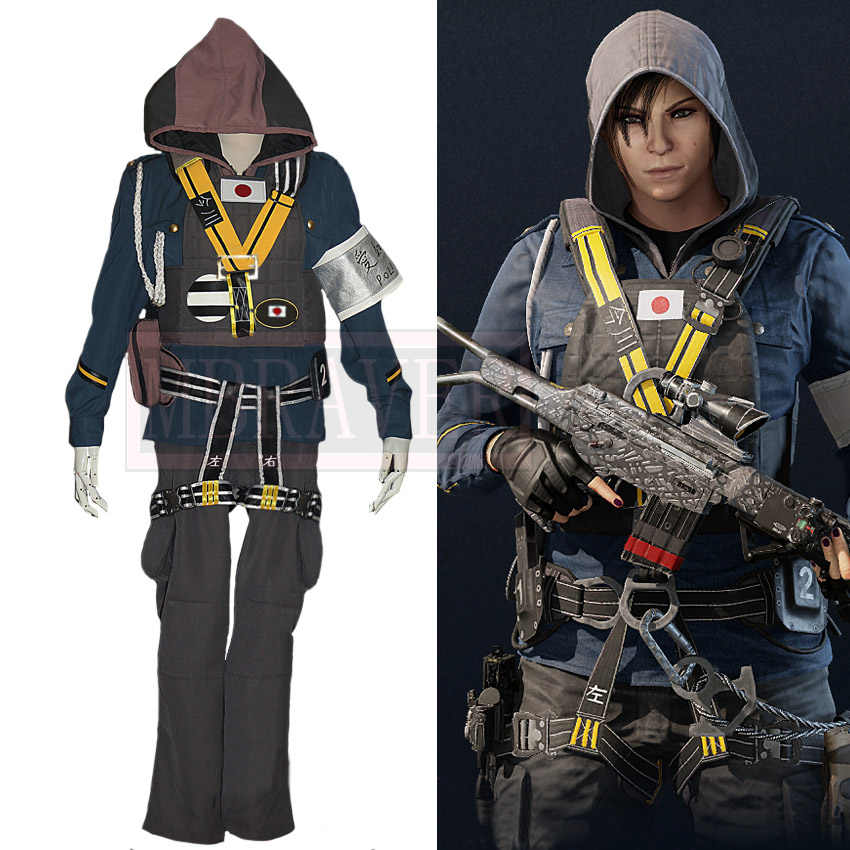 Rainbow six siege ela cosplay