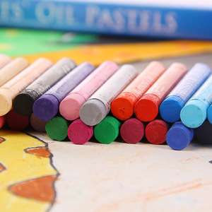 Image 3 - Set de 50 lápices de colores Pastel para niños, Set de lápices de colores Pastel, tiza Pastelli, papelería escolar