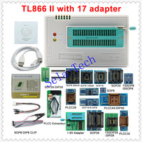 2019 Original New V9.00 TL866II Plus TL866CS&A Universal USB Minipro Programmer+31 Adapters+Test Clip TL866 PIC Bios Programmer|Calculators| |  -