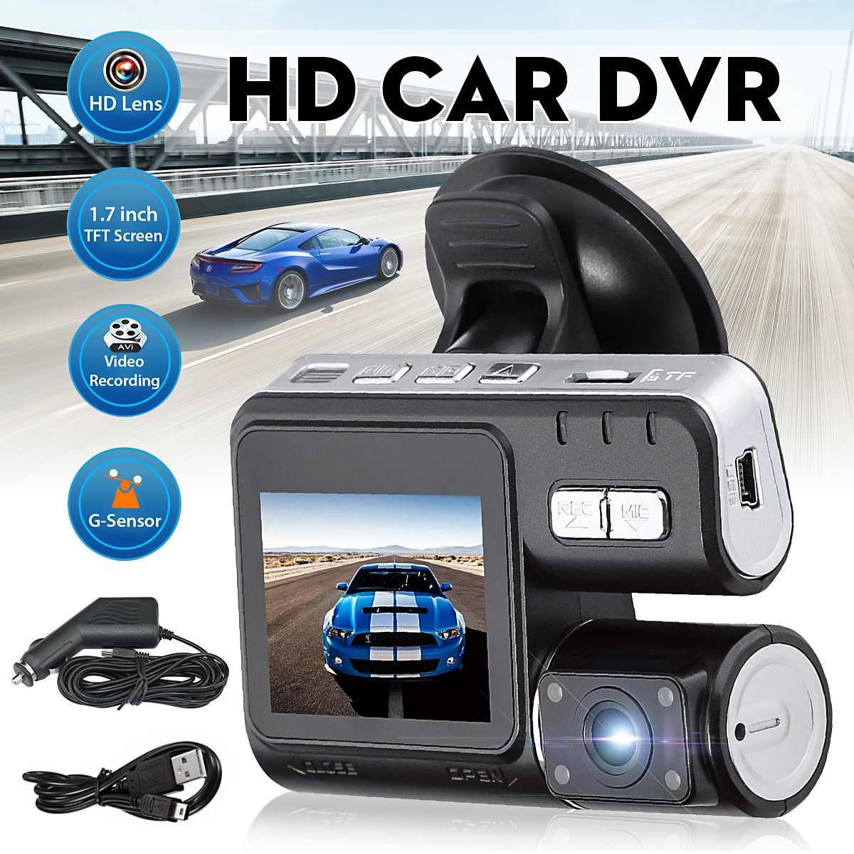 Car DVR Dash-Cam Camera Video Front-Recorder G-Sensor-Up Night-Vision 120-Degree 32GB