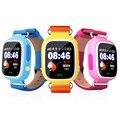Gps smart watch q90 crianças sos call localização gps rastreador anti perdeu Localizador Monitor de relógio de Pulso Com Tela de Toque Wifi PK Q50 Q60