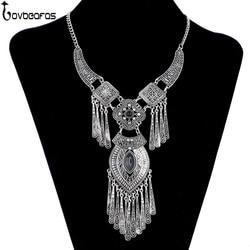 Lovbeafas 2017 fashion bohemian choker collar necklace vintage tassel statement maxi long necklace women collier femme.jpg 250x250