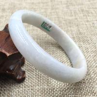 Лидер продаж >@@ a 519 Винтаж сертифицированных Класс зеленый натуральный камень браслет 59 мм Новый Высокое качество Бесплатная доставка