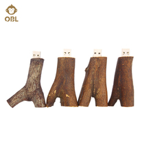Wood Branch USB Flash Drive 4GB 8GB 16GB 32GB 64GB 128GB Pen Drive USB Memory Stick Pendrive Memory Stick Flash Disk  Gifts for