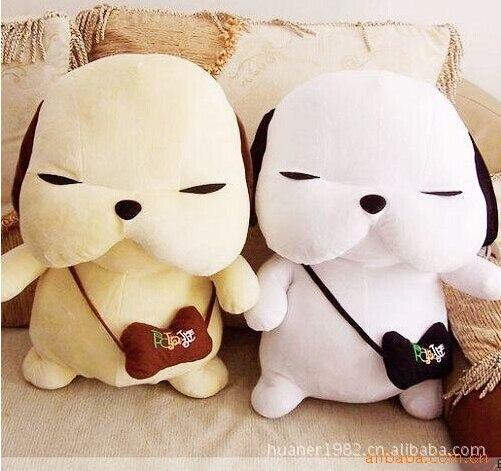 70 cm coréen en peluche chien paire amoureux présente des cadeaux créatif dessin animé Animal doux chiens errants jouets pour les enfants