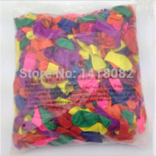 500piece /lot No3 small balloons Water polo round Multicolor100% latex balloon High-quality wedding party Toy balloons