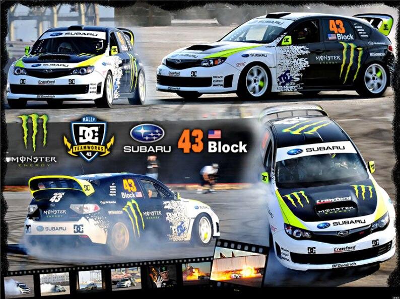 Online Get Cheap Monster Ken Block Car Sticker Aliexpress Com
