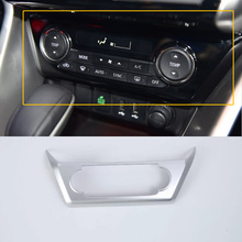 Car Accessories Interior Decoration Air Condition Adjustment Button Cover For Mitsubishi Eclipse Cross 2018 Car-styling