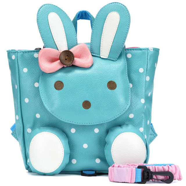 ALI VICTORY Animal toddler backpack for girls with leash