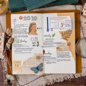 Image 3 - 1 סט בציר creative מספר שבוע חודש חותמת DIY עץ גומי בולים רעיונות מכתבים רעיונות בול רגיל