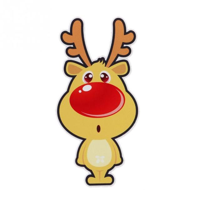 cars decorations christmas reindeer cartoon car stickers for your