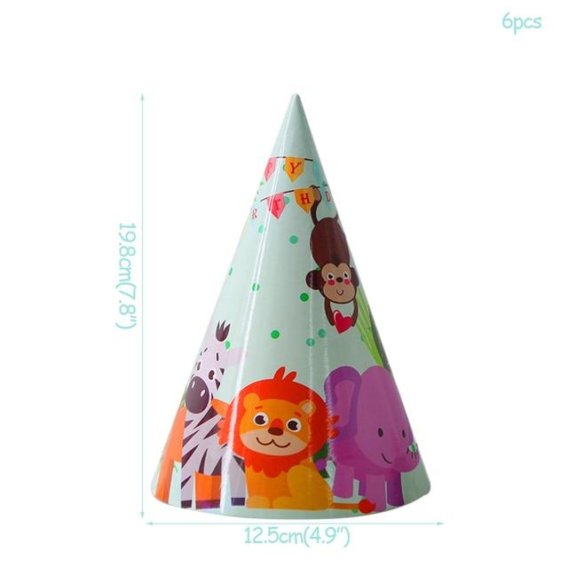 6pcs paper hat