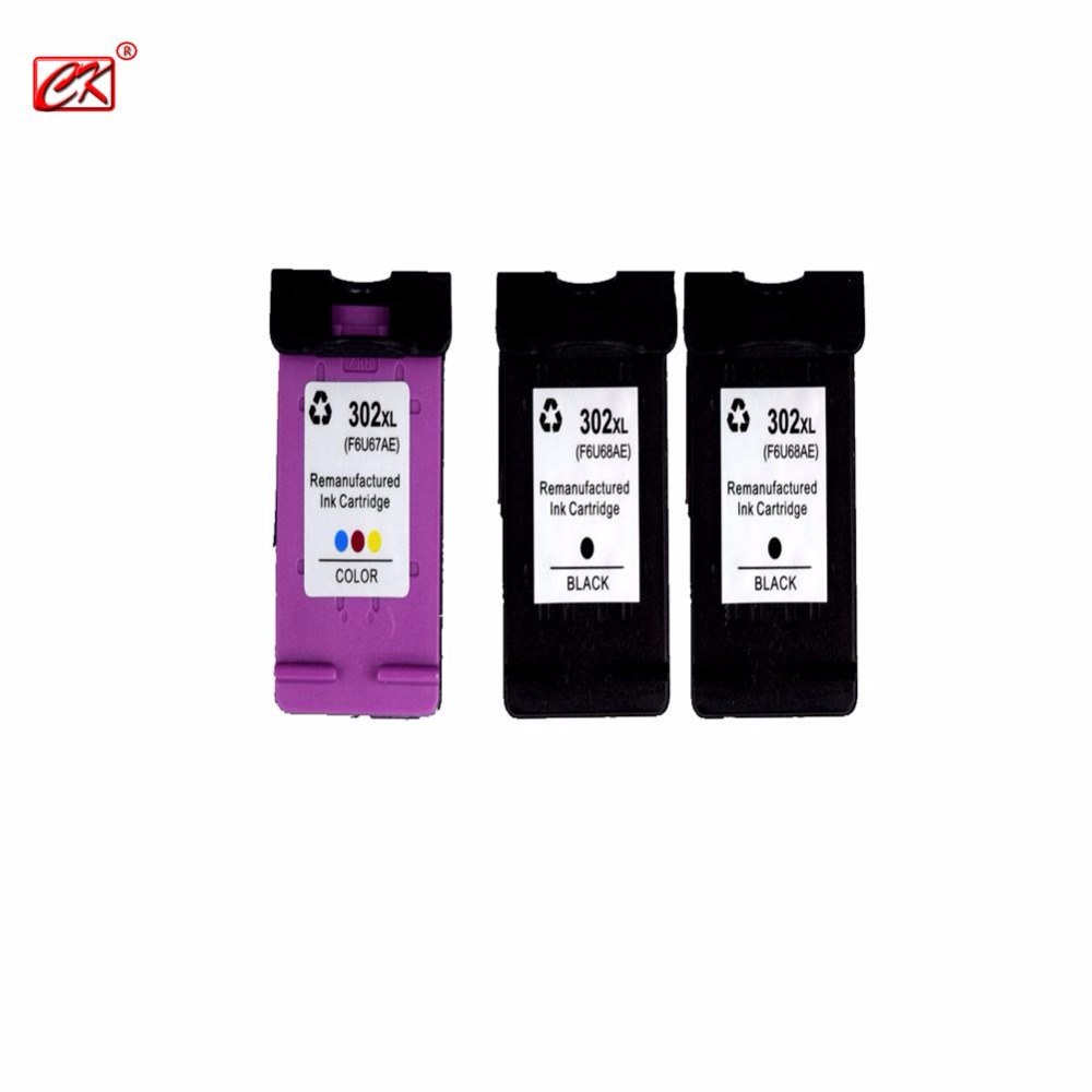 3PK  HP302 XL compatible Ink Cartridge for HP302XL 302 For HP DeskJet 1110 2130 for HP Envy 4520 NS45 for HP Officejet 3630 3830 2pcs compatible ink cartridge hp121xl hp121 for deskjet f4210 f4213 f4240 f4272 f4275 f4280 f4283 f4288 f4500 f4580 f4583