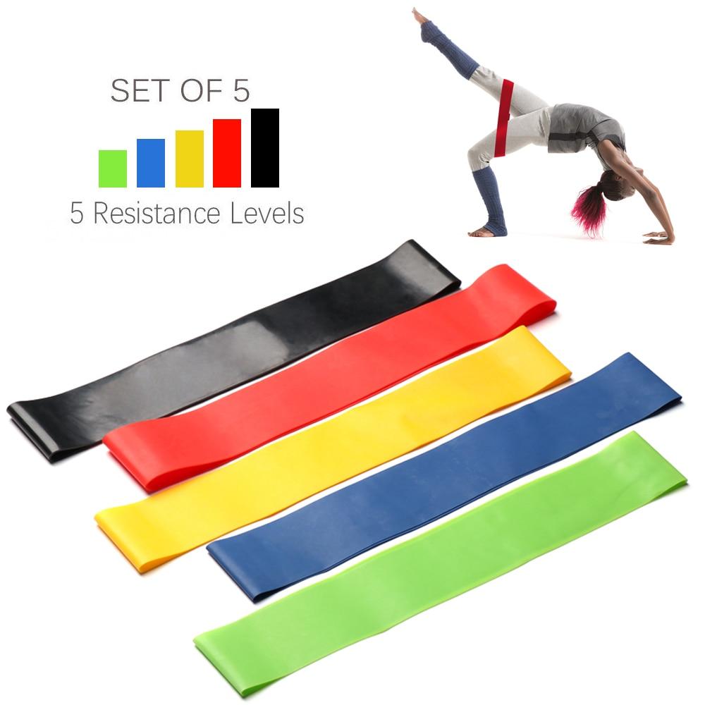 Fasce di resistenza alla gomma da Fitness allenamento Crossfit corda da tiro anello di gomma lattice palestra allenamento della forza Yoga attrezzature per il Fitness Expander