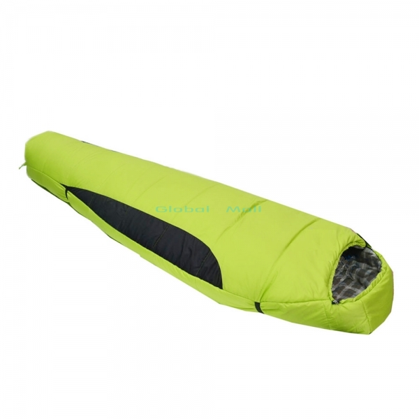 Us 64 6 Ship From 82 X31 Mummy Style Winter Sleeping Bag Outdoor Products Camping Hiking With Carrying Case Light Green 89011041 In