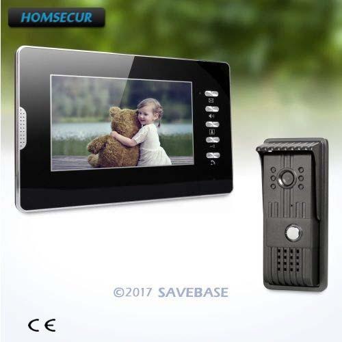 HOMSECUR 7 Video Intercom System with User-friendly Design of Mute Mode for Good Night Sleep кальсоны user кальсоны
