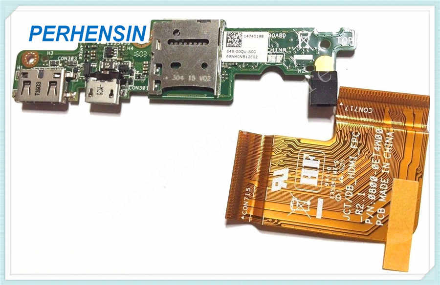 FOR DELL FOR Venue 11 pro 7130 T0G7 reader USB charge board JCT