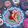 Hot Beach Towel Tassel Yoga Mat Carpet Tapete Doormat Tapestry Indian Mandala Blankets Bathroom Carpet Camping Mattress 7 Color 1