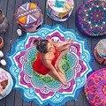Пляжное полотенце с бахромой  коврик для йоги  ковер Tapete  гобеленовый коврик  индийская мандала  пледы  коврик для ванной комнаты  матрас для ...