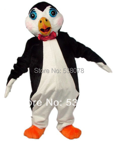 Pingouin Mascotte Costume Adulte Taille Pôle Sud Animal Noir Panther Cosply  Costume Carnaval Mascotte Mascota Costume 56e10f6902b