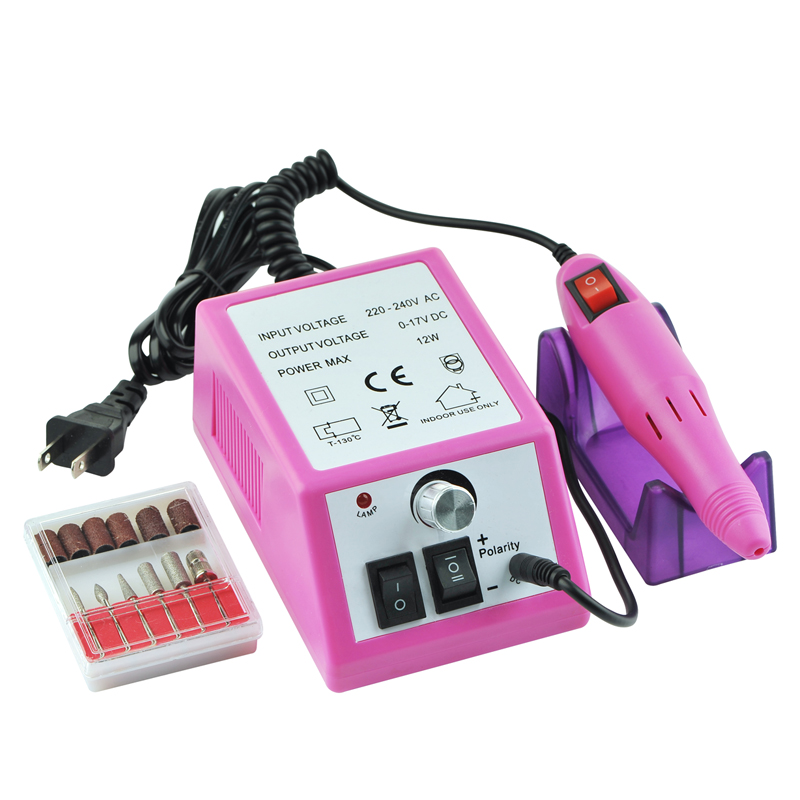 dropshipping profissional eletrica acrilico prego broca arquivo maquina kit bits manicure ue eua plug smj