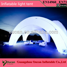 6meters diameter Small inflatable igloo tent and 6meters big inflatable dome tent for event/party with freeshipping by DHL