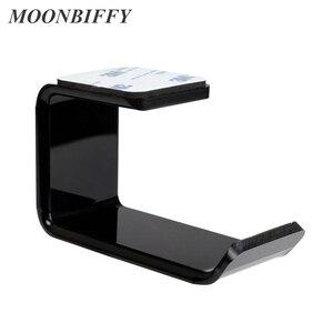 Image 2 - Прочный держатель для наушников и гарнитуры MOONBIFFY, Настенная/настольная подставка для наушников, кронштейн для наушников
