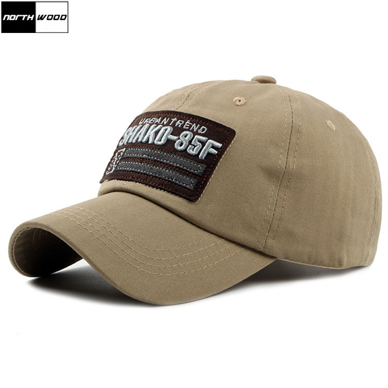 [NORTHWOOD] 2019 New Pattern Cap 3D Embroidery Baseball Cap Men Women's Baseball Hat Casquette Homme Bone Dad Hat