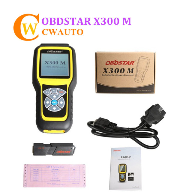 OBDSTAR X300M X300 M OBDII Diagnose and Odometer Correction Tool Original Update Online