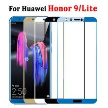 כבוד 9 אור זכוכית עבור Huawei Honer 9 לייט מסך מגן על Huaweii 9 לייט מזג גלאס בטיחות מגן Honor9 2.5D
