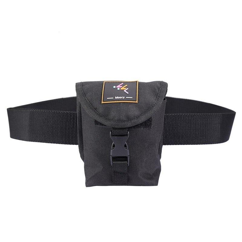 Black Scuba Diving Spare Weight Belt Pocket With Quick Release Buckle Diving Weight Belt Pocket Diving Accessories